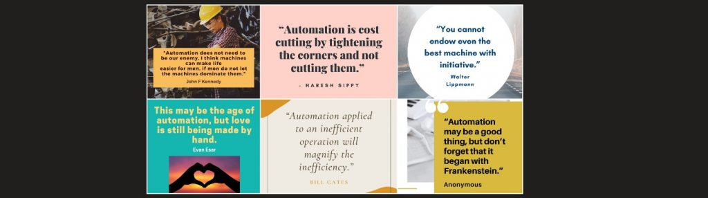 Automation-Quotes