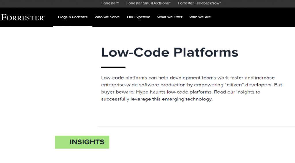 Top 10 Low Code No Code Blogs Resources To Follow In 2020 Tigersheet Custom Software For Business