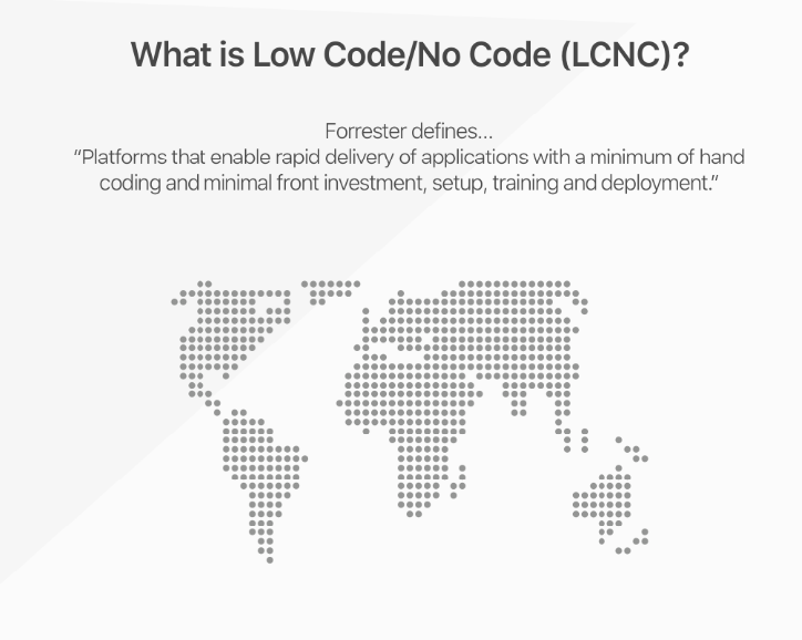 A Look At The Low Code No Code Development Market Facts And Numbers Unleashed Tigersheet Custom Software For Business