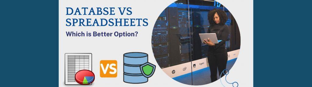Database vs. Spreadsheet: what is the Best Option?